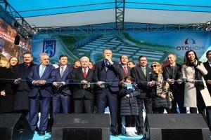 Otomotiv Ticaret Merkezi OTONOMİ'nin Açılış Töreni Yapıldı