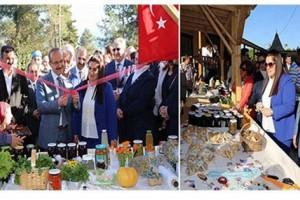 Eko Turizmin Merkezi Kabakdağı'nda Organik Ürünler Pazarı Açıldı