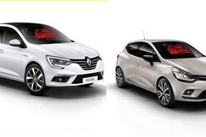 """Megane Sedan ve Clio HB """"Yerli Üretim"""" Logosu İle Showroomlarda"""