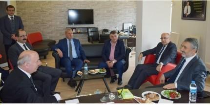 Rektör Bilgiç'den Samsun Ticaret Borsası'na Ziyaret