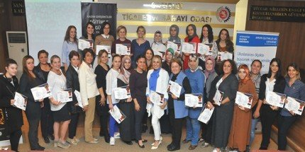 Girişimci Kadınlar Sertifikalarını Aldı