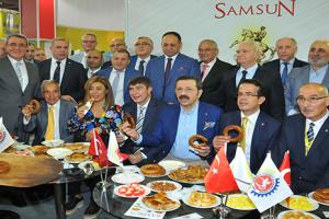 Antalya YÖREX Fuarı'nda Samsun'a Yoğun İlgi