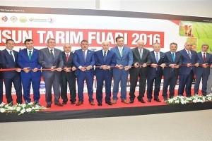 Karadeniz'in En Büyük Tarım Fuarı Samsun'da Açıldı