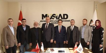 Başkan Togar'dan MÜSİAD'a Ziyaret