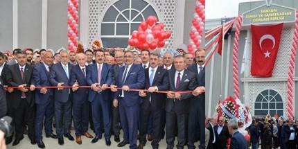 Samsun Esnaf ve Sanatkârlar Odaları Birliği (SESOB) Yeni Hizmet Binasının Açılışı Yapıldı