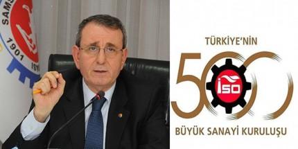 Türkiye'nin ilk 500 Büyük Sanayi Kuruluşu Listesi'ne Samsun'dan 5 Firma