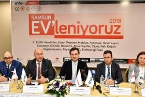 """TÜYAP  """"Samsun EV'leniyoruz 2018"""" Fuarı Kapılarını İkinci Kez Açıyor"""
