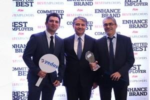 YEDAŞ'a En İyi İş Yeri Ödülü