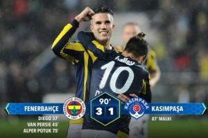 Fenerbahçe 3  Kasımpaşa 1