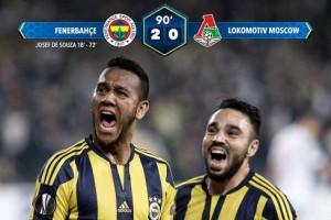 Fenerbahçe 2 - Lokomotiv Moskova 0