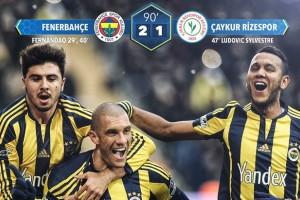 Fenerbahçe 2 Çaykur Rizespor 1