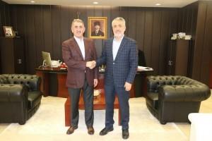 Milletvekili Köktaş'dan OMÜ Rektörü Bilgiç'e Hayırlı Olsun Ziyareti
