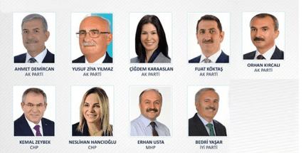 İşte Samsun'un Yeni Milletvekilleri