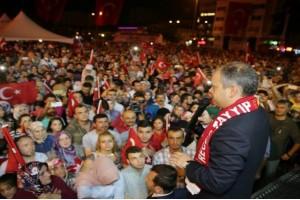 Bakan Kılıç, Samsun Cumhuriyet Meydanı'nda Konuştu