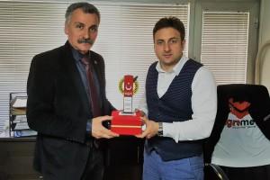 Gazeteciler Cemiyetinin Ödülü Agromec'e