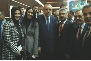 Başkan Aksu ve Samsun Heyeti Erdoğan İle Buluştu