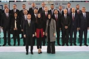 Erdoğan, Samsun İlçe Adaylarını Tanıttı