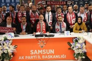 Samsun AK Parti'de Seçim Strateji Belirleme Toplantısı Gerçekleştirildi