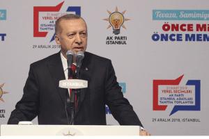 Erdoğan, AK Parti İstanbul Adaylarını Açıkladı