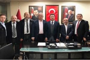Büro Memur-Sen Samsun Şubeden Ak Parti Atakum İlçe Başkanlığına Ziyaret