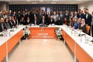 Samsun AK Parti'de Yürütme Kurulu Belirlendi