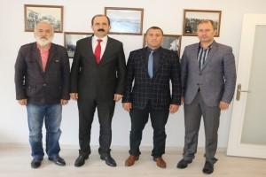 Başkan Göksel'den  19 Mayıs Gazeteciler Cemiyeti'ne Ziyaret