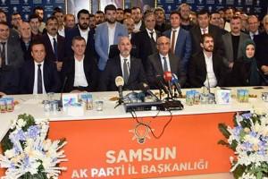 Ak Parti Samsun'da Kongreye Kadar Mevcut Yönetim