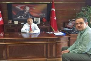 Başkan Aksu'dan Demokrasi Ziyaretleri