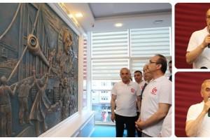 Altınordu Belediyesi'nde '15 Temmuz Köşesi'nin Açılışı Yapıldı