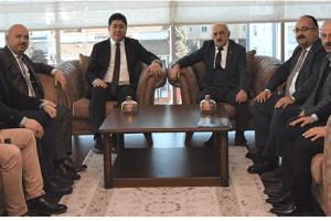 Gündoğdu ve Tören'den Başkan Tezcan'a Ziyaret