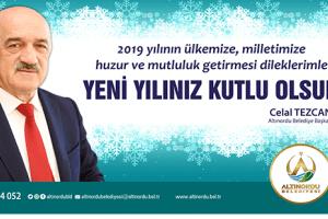 Başkan Tezcan'dan Yeni Yıl Mesajı
