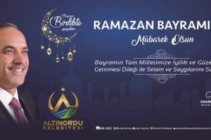 Başkan Engin Tekintaş'tan Ramazan Bayramı Mesajı