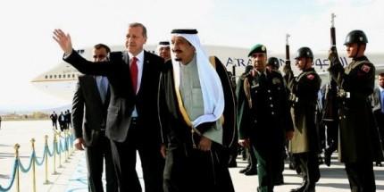 Suudi Arabistan Kralı Selman Türkiye'ye Geldi