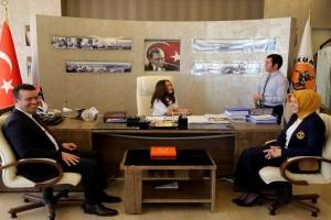 Atakum'da Çocuk Başkan Seçimle Geldi
