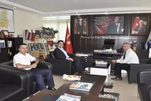 Kaymakam Kuruca'dan  Başkan Belur'a Ziyaret