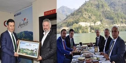 Cumhuriyet Başsavcısı Ahmet Yavuz'dan Ayvacık Belediyesi'ne Ziyaret