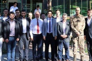 Başkan Mustafa Belur, Ak Gençliği Kahvaltıda Ağırladı
