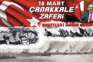 """Başkan Şahin: """"Çanakkale Ruhu Bugün de Yaşamaktadır"""""""