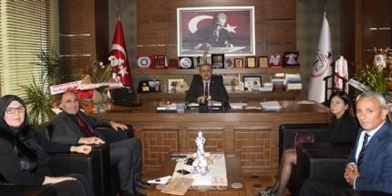 Kutlu Yol Derneği Yönetiminden Samsun Barosu Başkanı Gürbüz'e Ziyaret