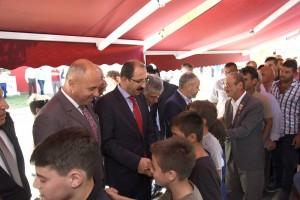 Tekkeköy'de Bayramlaşma Programına Yoğun İlgi