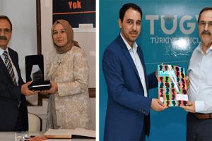 Başkan Zihni Şahin'den KADEM ve TÜGVA'ya Ziyaret