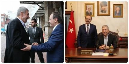 Sağlık Bakanı Ahmet Demircan'dan Başkan Zihni Şahin'e Ziyaret