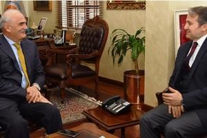 YEDAŞ Genel Müdürü Aktürk'ten Başkan Yılmaz'a Veda ziyareti