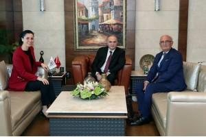 Başkan Yılmaz, Ankara'da Bakan Faruk Özlü İle Görüştü