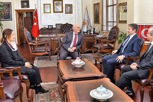 YEDAŞ'tan Başkan Yılmaz'a Ziyaret