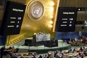 Kudüs Tasarısı BM'de Kabul Edildi