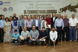 """8. Uluslararası """"15 Temmuz Bağlamında Din ve Toplum"""" Sempozyumunun Sonuç Bildirgesi Açıklandı"""