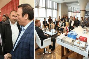 AK Parti Samsun İl Gençlik Kolları'ndan Başkan Genç'e Ziyaret