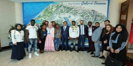 Canik'e Uluslararası Misafir