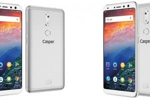 Casper'dan Önde Çift Kameralı Cep Telefonu